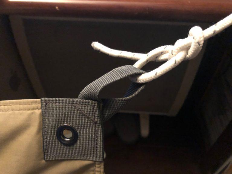 タープ ロープの結び方