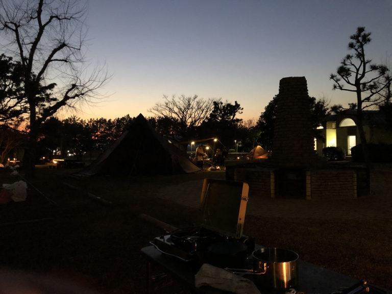 初ソロキャンプin若洲公園キャンプ場