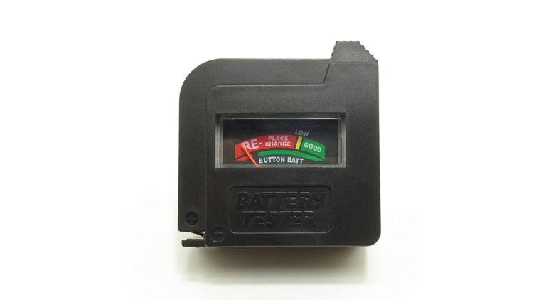 乾電池残量チェッカー