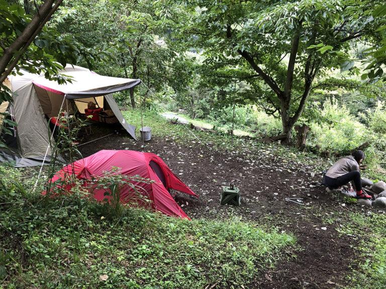 くりの木キャンプ場 2020