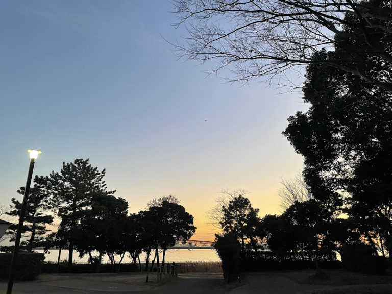 城南島海浜公園キャンプ場 冬デイキャンプ