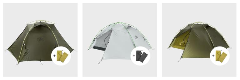 ZEROGRAM El chalten Pro 2.5P Tent 2021