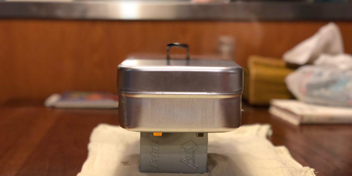 ラージ 炊飯 メスティン
