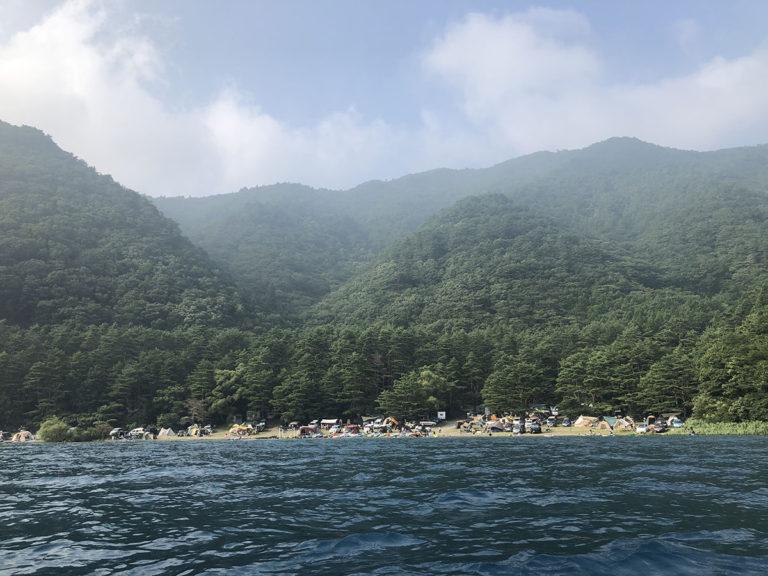 本栖レークサイドキャンプ場/SUP