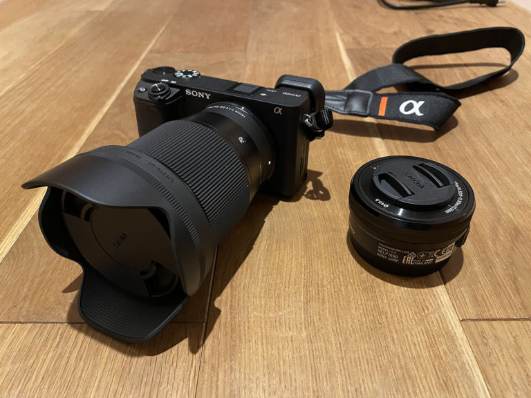 SONYα6400+SIGMA16mmF1.4