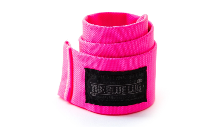 BLUE LUG snap rolly (flash pink)